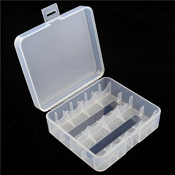 Aufbewahrungsbox für 4x 18650 oder 2x 26650 Li-Ion Akkus