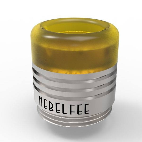 Nebelfee BT Drip Tip Gelb/Silber