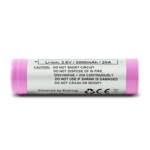 Enercig EC 30Q (Samsung 30Q) - 18650 Akku 3000 mAh 15A
