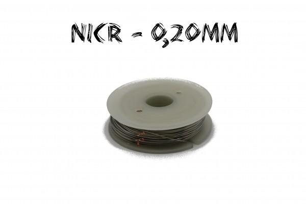 Nicr Heizdraht 20m 0,20mm