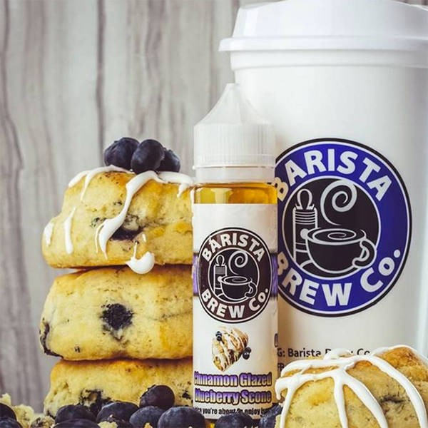 Cinnamon Glazed Blueberry Scone 50ml