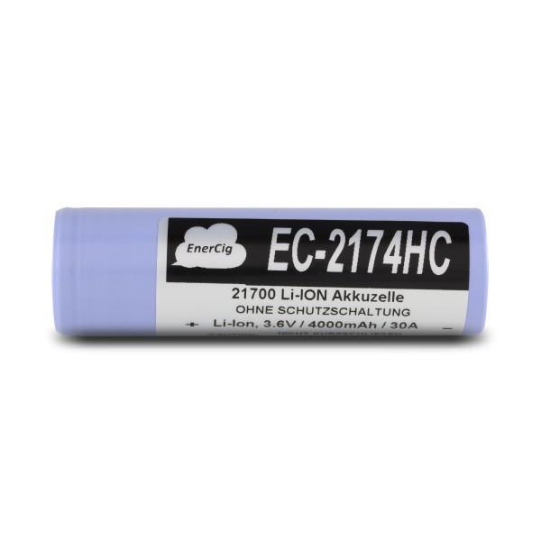 Enercig EC- 2174HC - 21700 Akku 4000 mAh 30A
