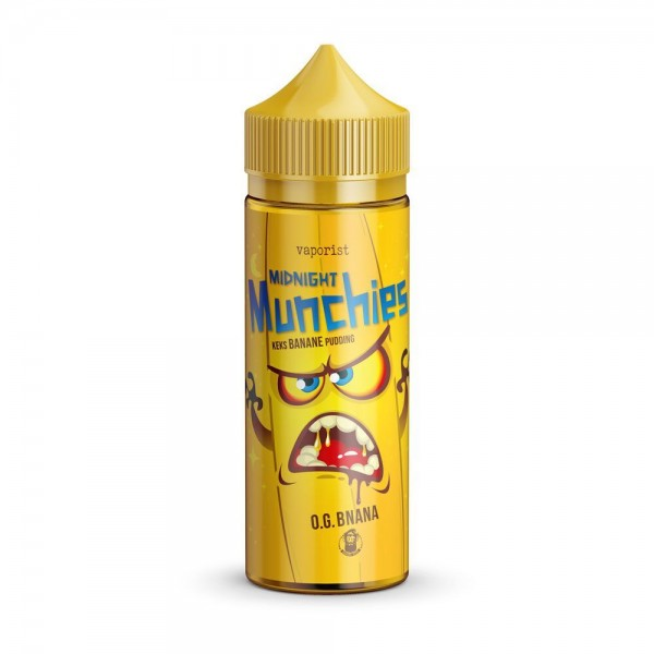 VAPORIST - Midnight Munchies - O.G. Bnana - 100ml