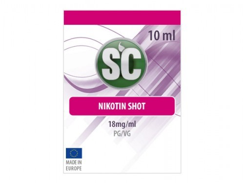 10ml Shot 50PG/50VG 18 mg/ml