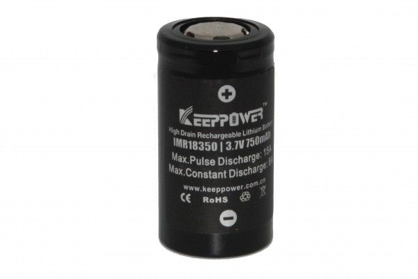 Keeppower IMR18350 - 750mAh