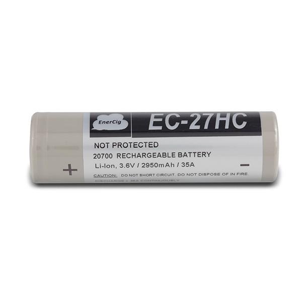 Enercig EC-27HC - 20700 Akku 2950 mAh 35A